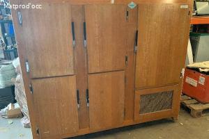 Armoir  réfrigéré bois