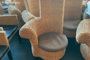 fauteuil en corde