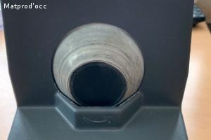Optique meuleuse manuelle pour organique et polycarbonate